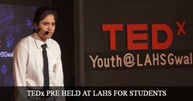 TEDx PRE HELD AT LAHS FOR STUDENTS