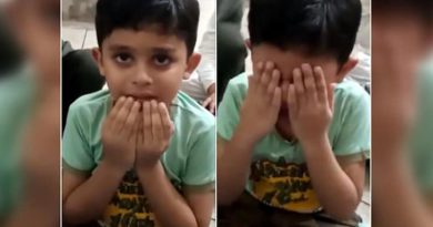 Video of kid crying at the thought of schools reopening goes viral. Twitter relates