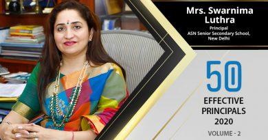 Effective Principals 2020 | Mrs. Swarnima Luthra, Principal of ASN Senior Secondary School
