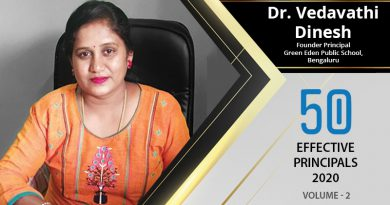 Effective Principals 2020 | Dr. Vedavathi Dinesh, Founder Principal of Green Eden Public School