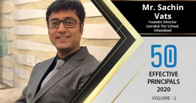 Effective Principals 2020 | Mr. Aloysius D'Mello, Principal of Greenwood High International School