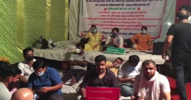 Parents In Ghaziabad Stage Hunger Strike Seeking School Fee Waiver