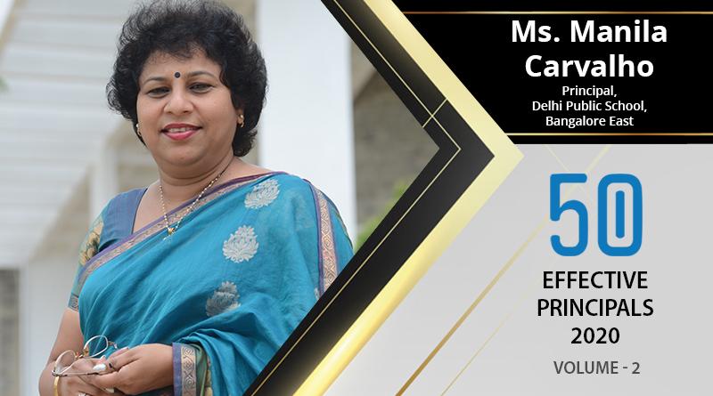 Effective Principals 2020   Ms. Manila Carvalho, Principal of Delhi Public School