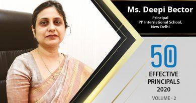 Effective Principals 2020 | Ms. Deepi Bector, Principal of PP International School