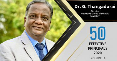 Effective Principals 2020 | Dr. G. Thangadurai, Director of Presidency Group of Schools