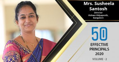 Effective Principals 2020 | Mrs. Susheela Santosh, Director of Vishwa Vidyapeeth