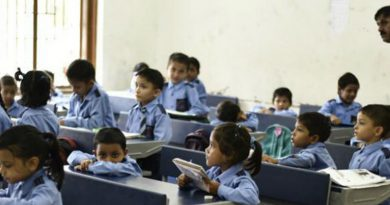 Govt schools open partially for all, virus scare remains