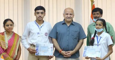 2 Delhi Government School Students Among Top 10 In ISRO Competition