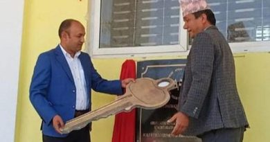 Nepal & India Together Inaugurate Newly Built School Building In Dhanusha