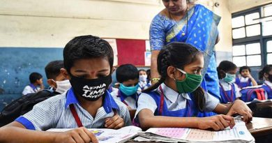 The reopening of schools in Navi Mumbai school sends parents in a frenzy