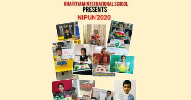 Bhartiyam International School's Carnival records 1200 participants from 150 schools in 42 contests