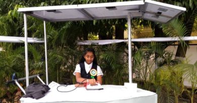 Class 8 student in Tamil Nadu Wins Global Award For Designing a Solar Ironing Cart