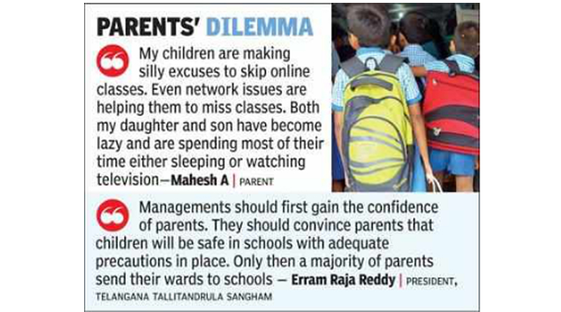 12 lakh parents gave consent to send kids to school, says TRSMA