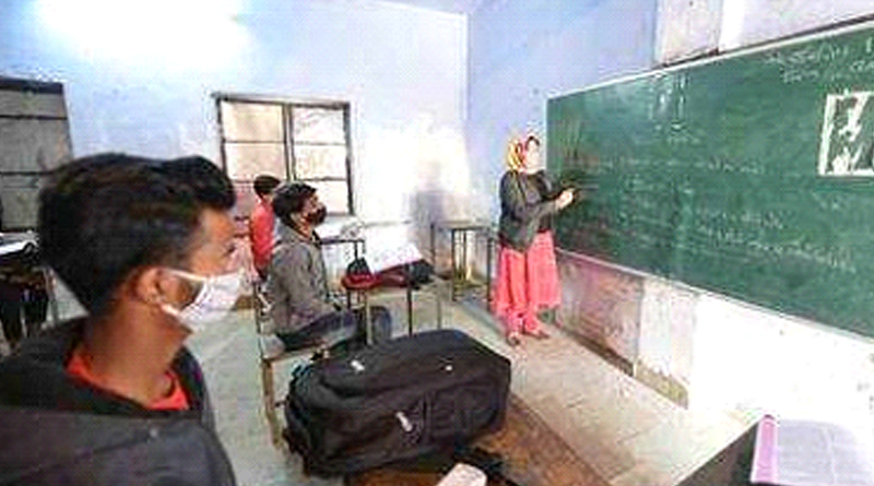 Schools reopen for classes 9 and 11 in Gujarat