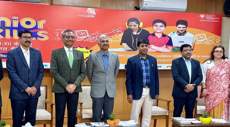 NSDC collaborates with CBSE to launch first edition of 'JuniorSkills Championship' to encourage vocational education