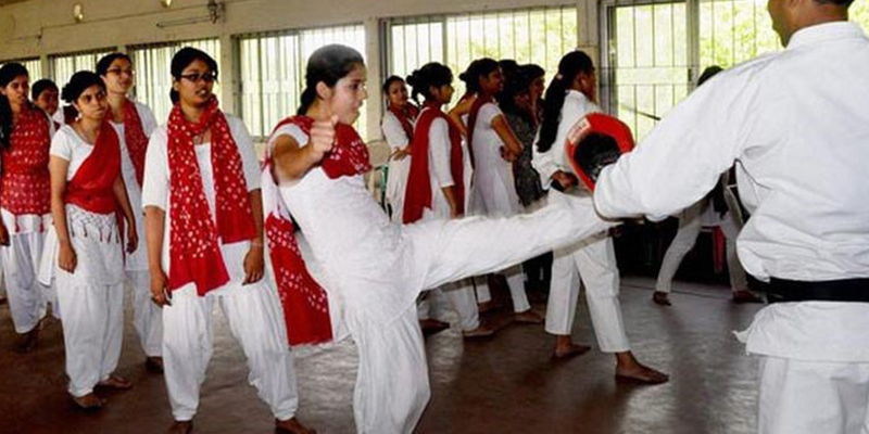 Girl students in UP to receive self-defence training