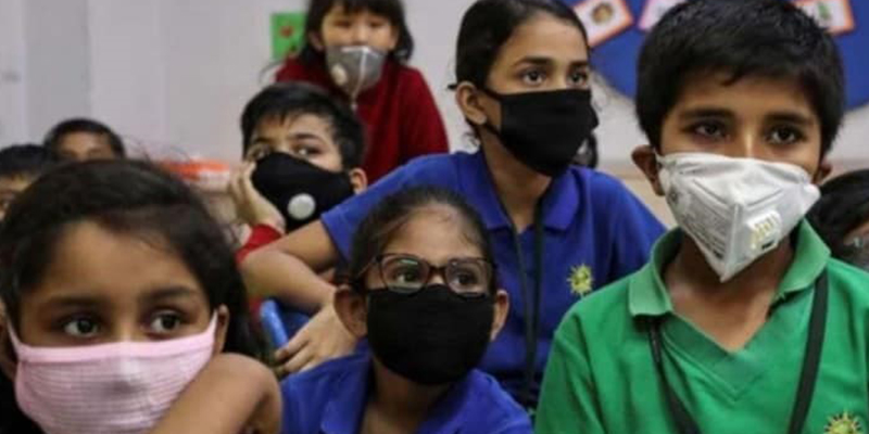Primary schools in Uttar Pradesh reopen with Covid-19 safety norms
