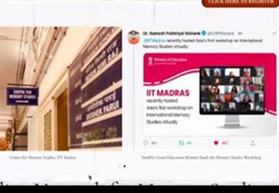 IIT Madras launches Indian network for memory studies
