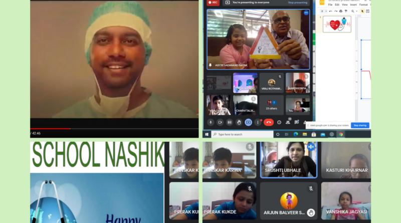 DELHI PUBLIC SCHOOL NASHIK DOCTOR'S DAY CELEBRATION