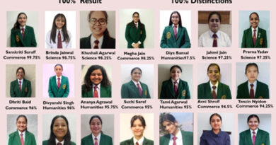 Mussoorie International School records 100% pass results in