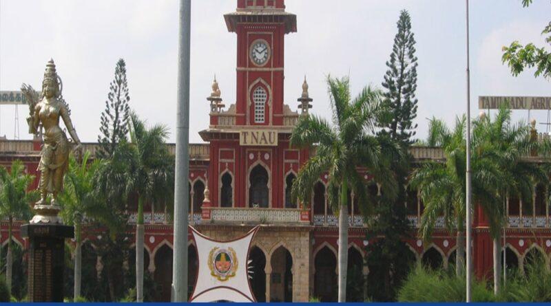 Minister Visits Tamil Nadu Agricultural University, Witnesses Demo On Drone Technology