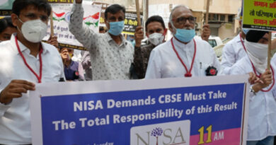 NISA protests at CBSE Headquarter demanding justice on Tabulation Policy & safety of teachers - Education News