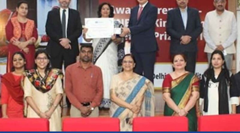 NIOS receives UNESCO Literacy Prize for Innovation in Education