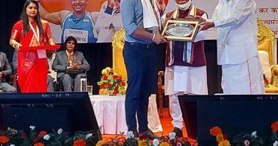 Hon'ble Vice President of India, Sh. M. Venkaiah Nadu Felicitated Tokyo Paralympians at The NorthCap University, Gurugram