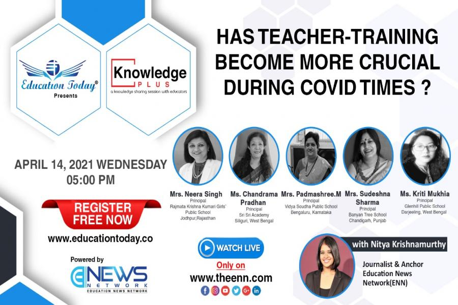 Panel Discussion - Has Teacher-Training Become more Crucial During Covid Times?