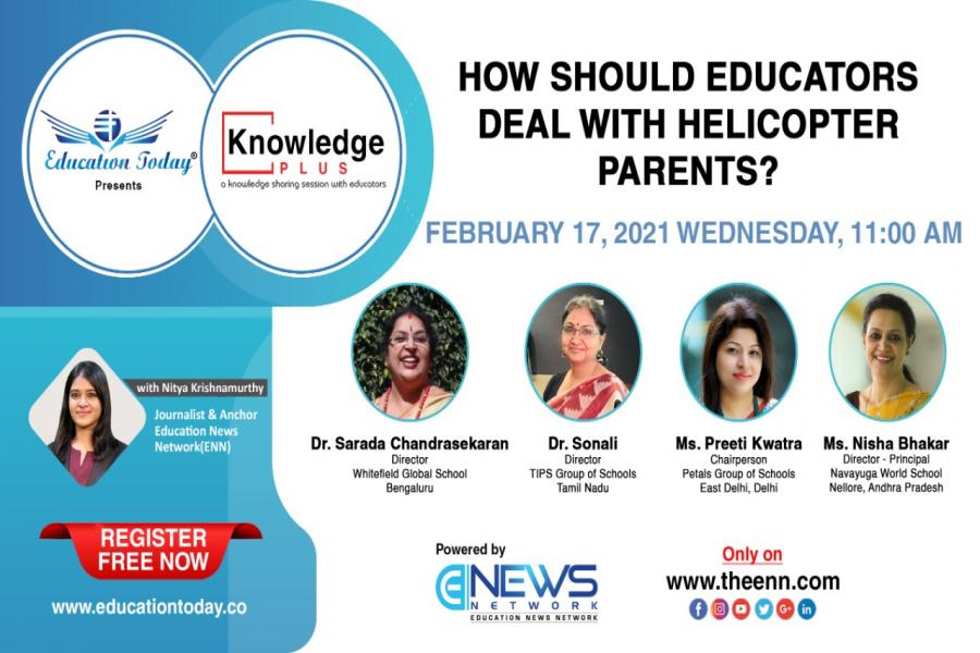 Panel Discussion - How should educators deal with helicopter parents?