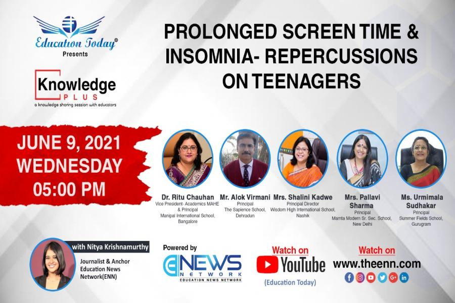 Panel Discussion | Prolonged Screen Time & Insomnia- Repercussions on Teenagers.