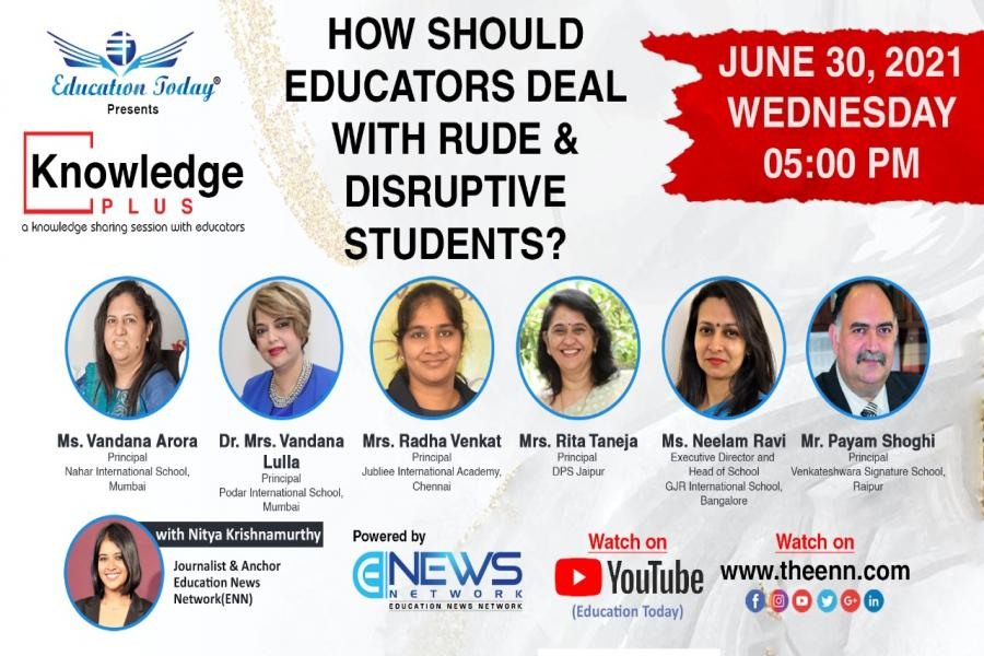 Panel Discussion   How Should Educators Deal with Rude and Disruptive Students?