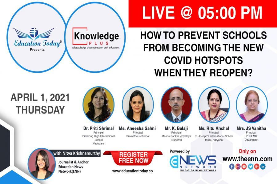 Panel Discussion - How to Prevent Schools from Becoming the New Covid Hotspots when They Reopen?