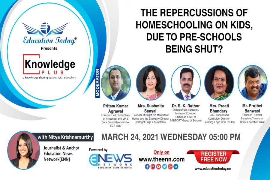 Panel Discussion - The Repercussions of Homeschooling on Kids, Due to Pre-schools Being Shut