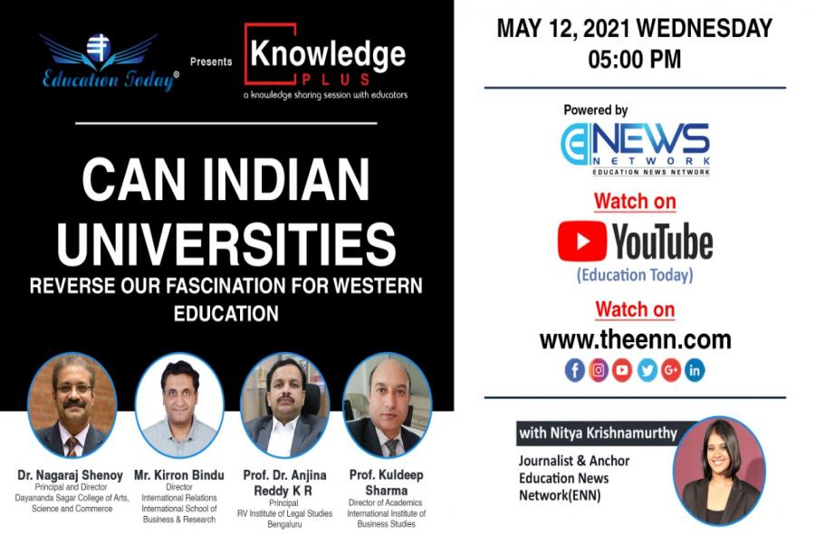Panel Discussion | Can Indian Universities Reverse Our Fascination for Western Education?