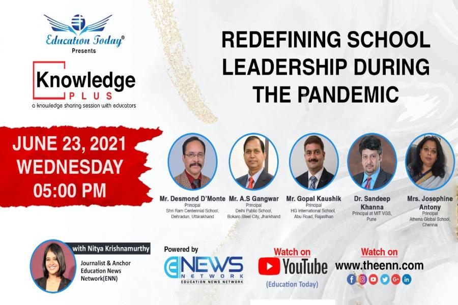 Panel Discussion   Redefining School Leadership During The Pandemic.