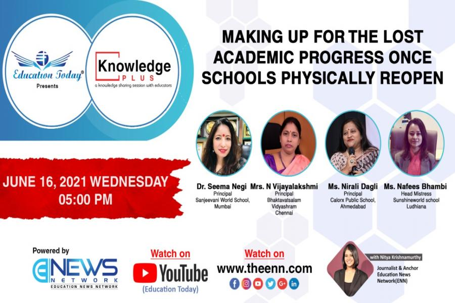 Panel Discussion | Making Up for the Lost Academic Progress Once Schools Physically Reopen